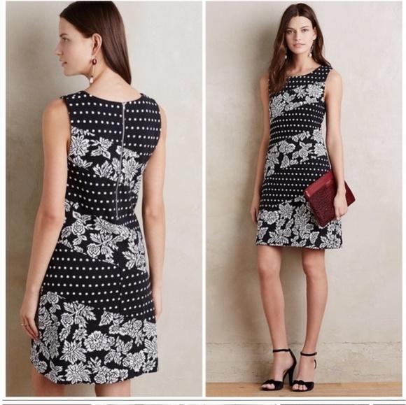 Anthropologie Dresses & Skirts - 🎉HP🎉 Anthropologie Maeve Effemy Jacquard Shift